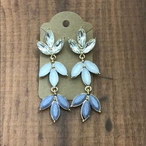 Jewelry - NWT multicolor earrings with gems